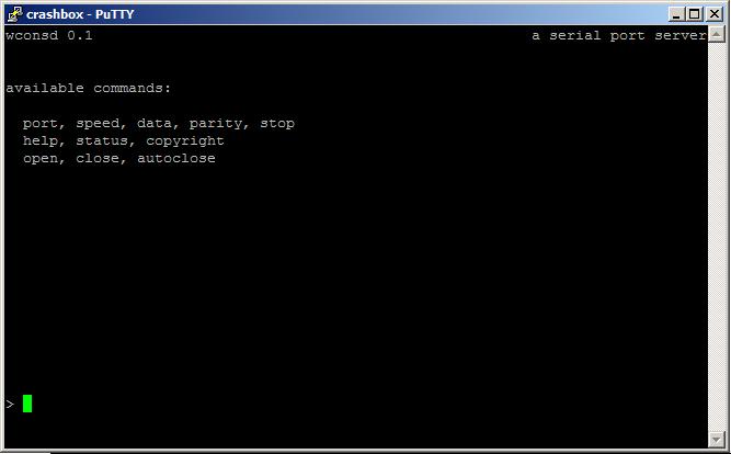 Windows Serial Console Daemon « Benjamin Schweizer